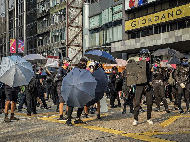 China uses brutal goons and tear gas to silence protests in Hong Kong